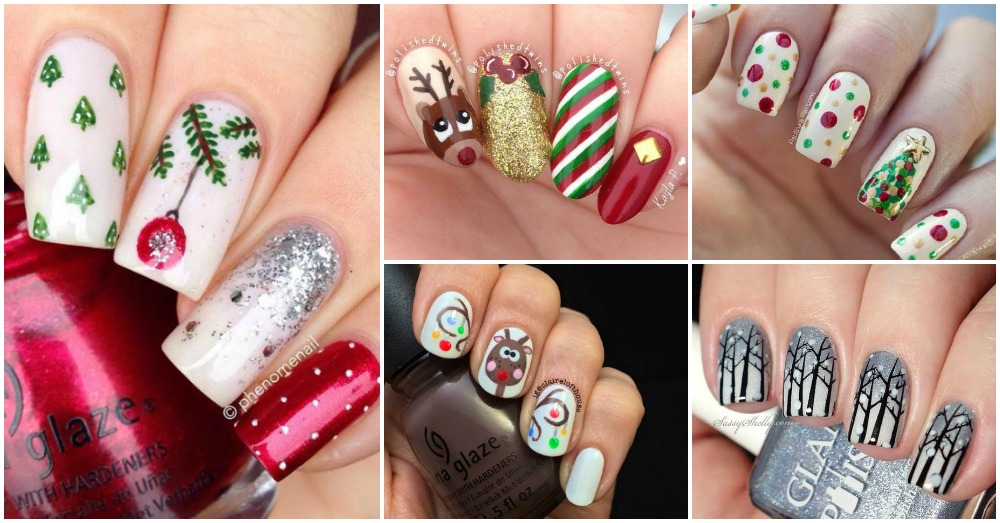 Nails Art: 13 Lovely Christmas Nails You Need To See