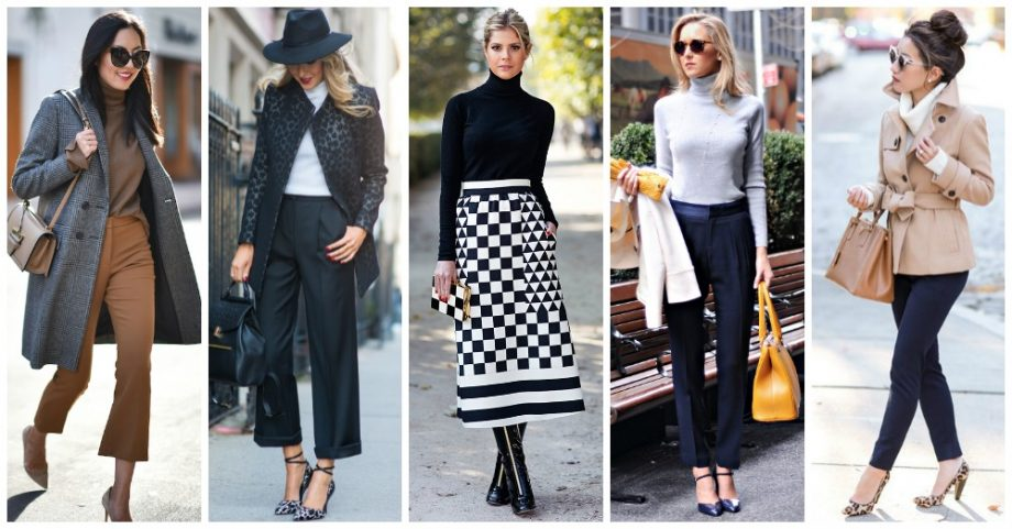 15 Stylish Office Outfits with Turtlenecks to Copy Now
