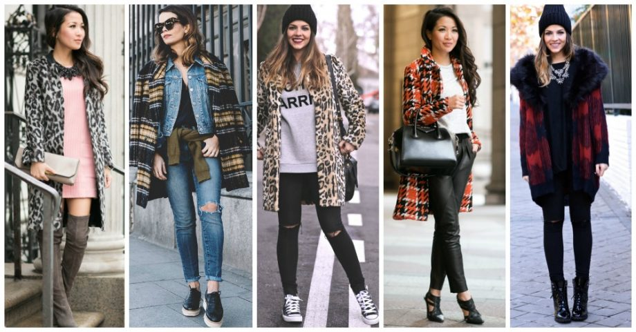 16 Amazing Ways to Wear Your Printed Coat
