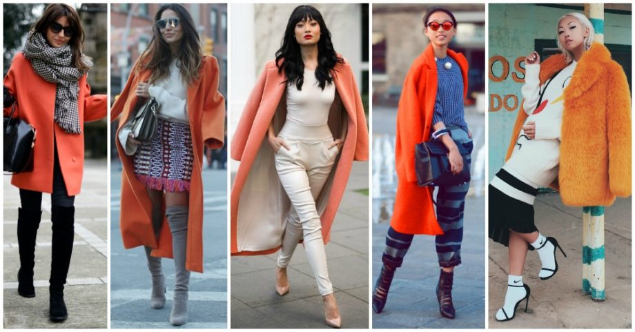 13 Lovely Outfits Outfit Ideas with Orange Coats