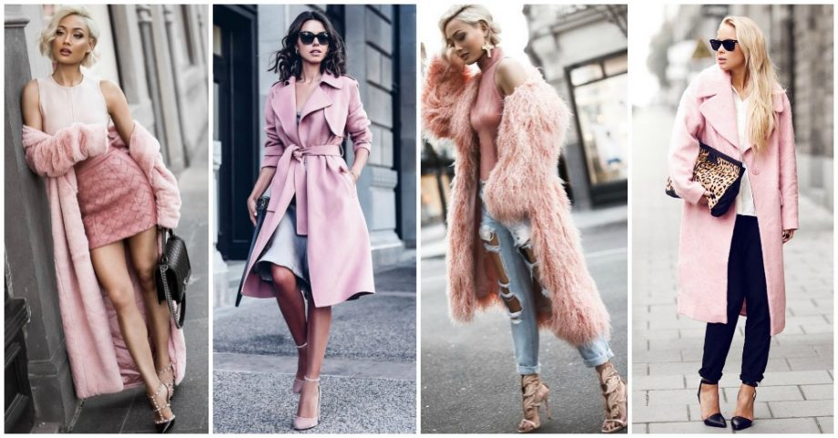 Gorgeous Ways to Wear Pale Pink This Winter