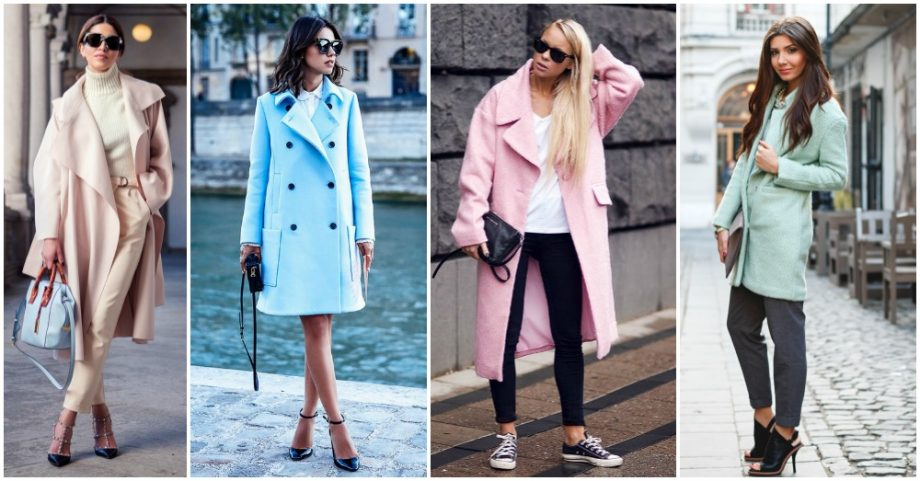 10 Fashionable Ways to Wear Your Pastel Coat Right Now