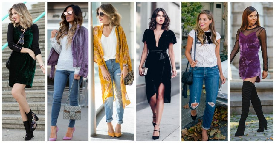 15 Impressive Ways to Wear Velvet All Year Round