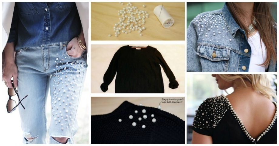 10 Super Cute DIY Ideas to Embellish Your Clothes and Accessories with Pearls