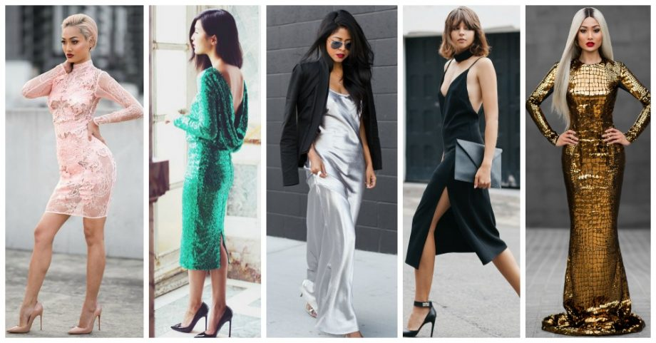 4 Gorgeous New Year's Eve Party Dresses