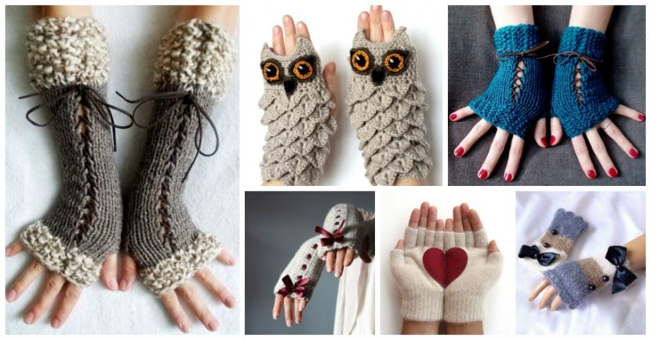 Cute Fingerless Gloves to Wear This Winter