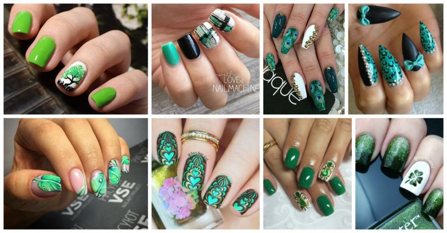 13 Nail Designs Inspired by Pantone's Greenery