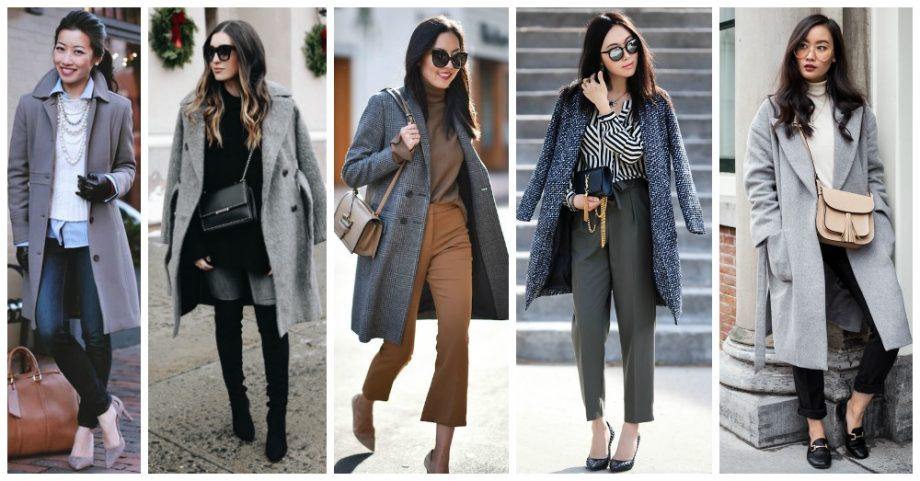 13 Beautiful Outfits with Grey Coats You Need to Check