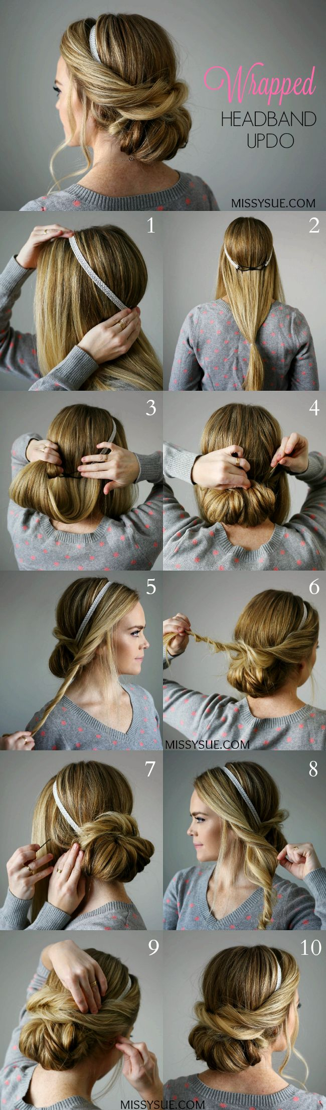 5 Step By Hair Tutorials To Do For Christmas