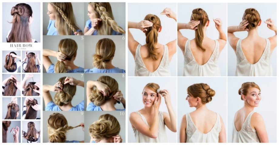 5 Step-by-Step Hair Tutorials to Do for Christmas