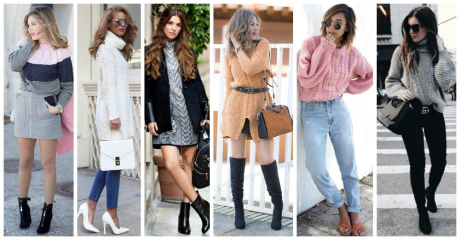 Knit Sweaters and Dresses You Would Love to Wear This Winter