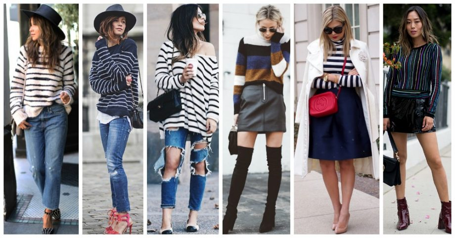18 Ways to Look Stunning in Your Striped Sweater