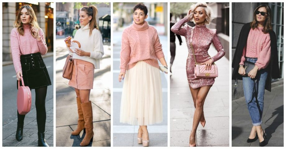 20 Winter Outfit Ideas to Wear Pink Without Looking Too Girly