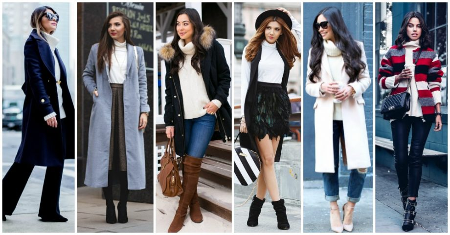 16 Outstanding Outfits with White Turtlenecks to Copy Now