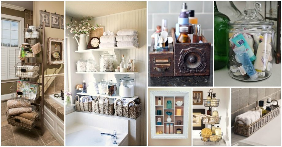 10 Amazing Ways to Store the Beauty Products in Your Bathroom