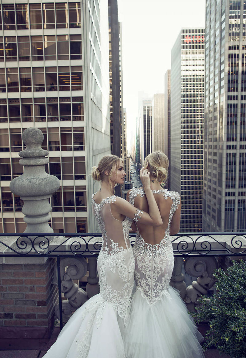 """Dimensions"" – Beautiful Wedding Dress Collection by Pnina Tornai"