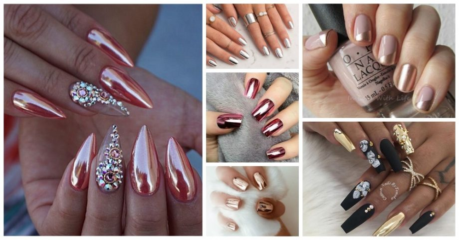 10 Beautiful Metallic Nails to Try Now
