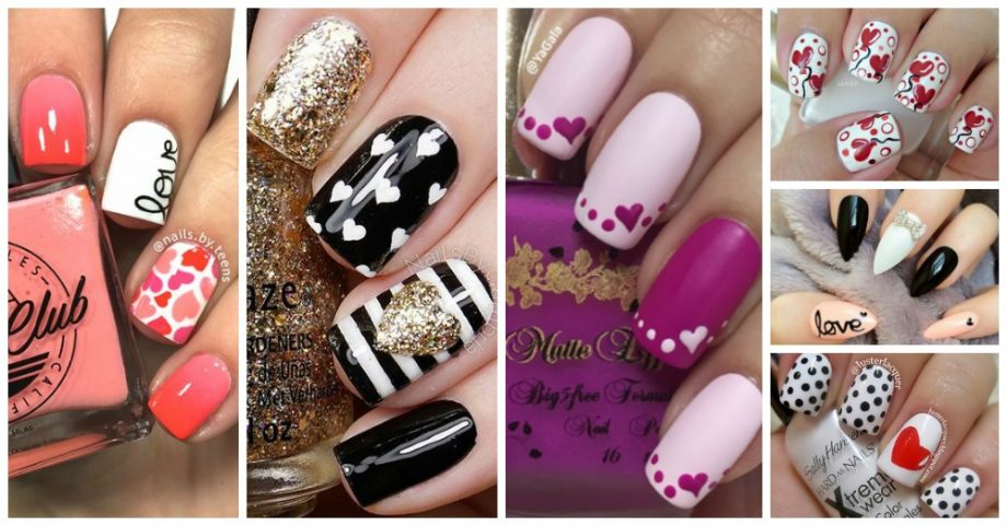 15 Valentine's Day Nail Art Designs That Will Catch Your Attention