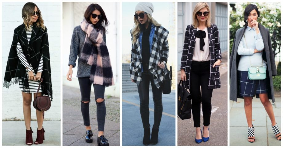 15 Winter Checkered Outfits You Need to See