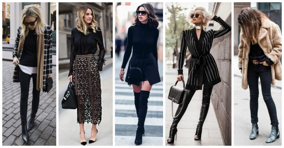10 Ways to Look Gorgeous in Your Black Clothes