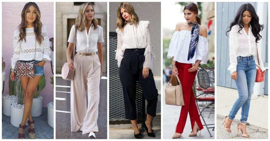 White Shirts – Hot Fashion Trend to Follow in 2017