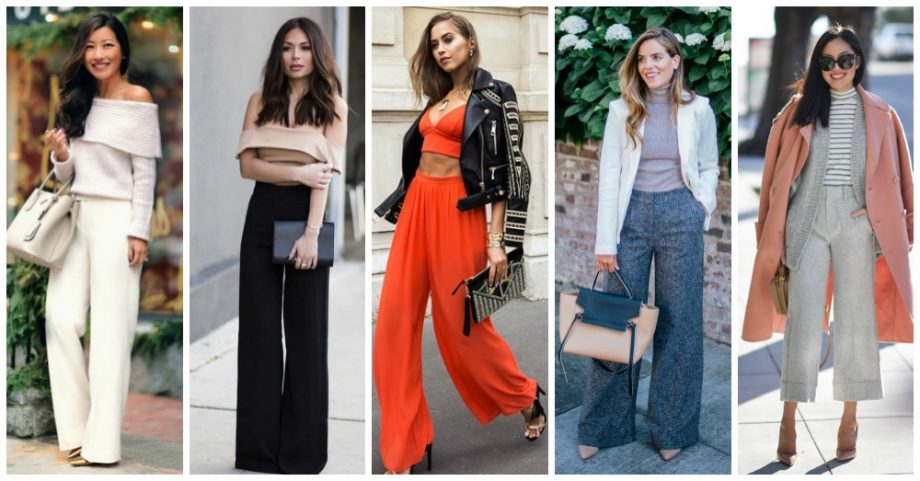 Stylish Ideas to Follow the Wide Leg Pants Trend