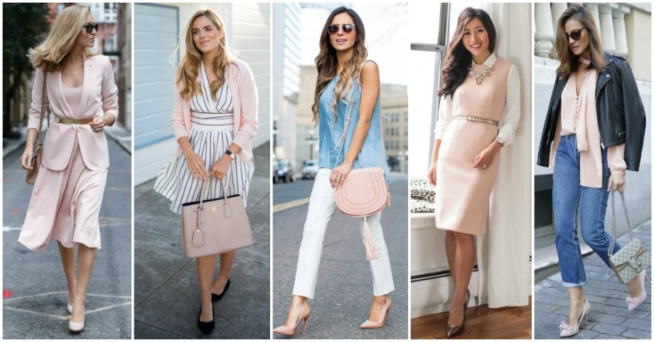 15 Ideas to Wear Blush This Spring