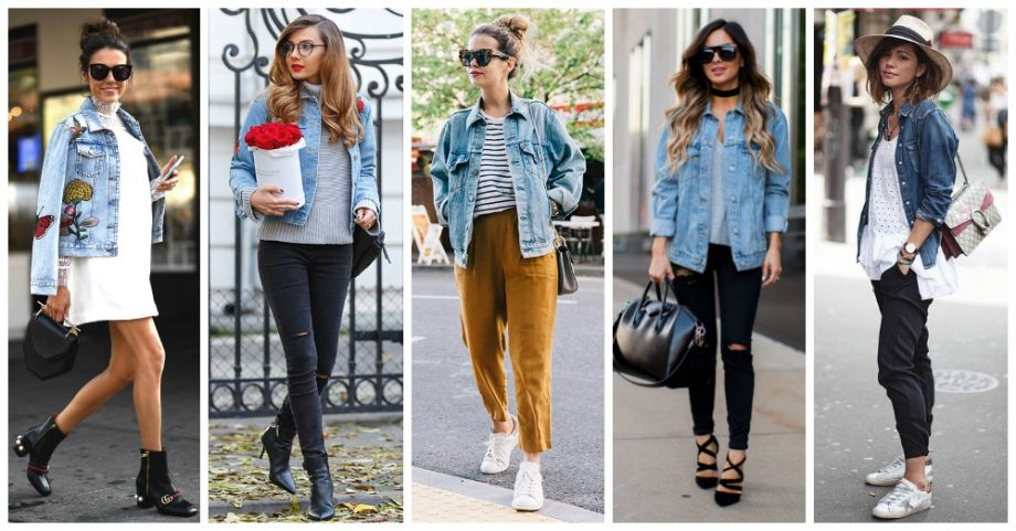 Lovely Ways to Style Your Denim Jacket