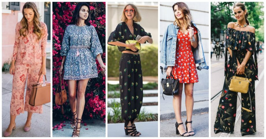 2017 Fashion Trend: Head to Toe Florals