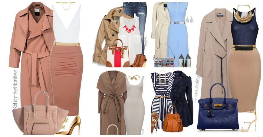 Fantastic Polyvore Outfits with Maxi Trench Coats