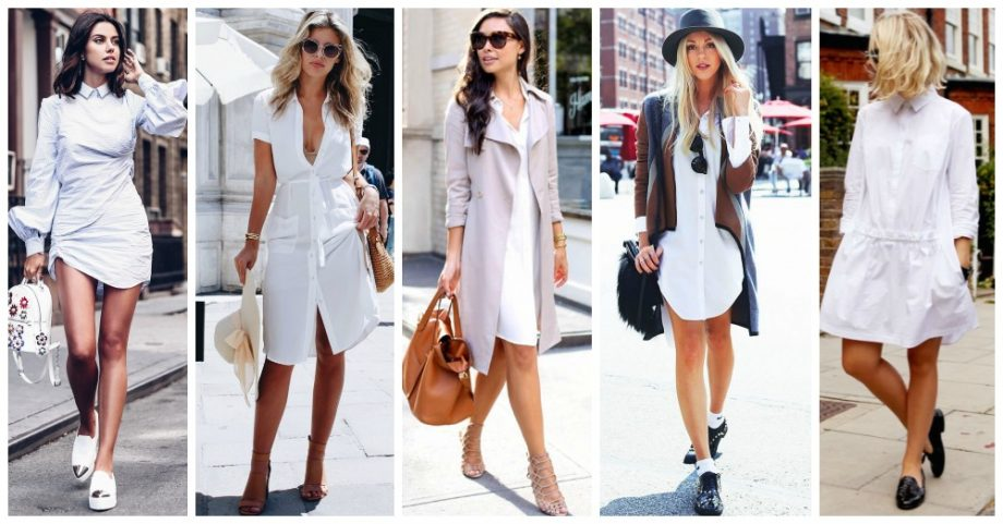 15 White Shirt Dresses You Need to See
