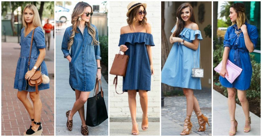 Denim Dresses That You Would Love To Wear