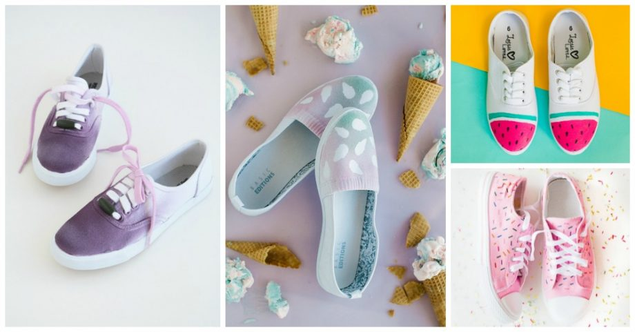 DIY Sneakers That Will Take Your Breath Away