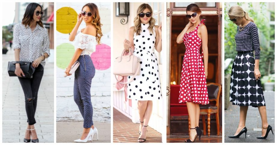 How to Wear Your Polka Dot Clothes This Spring?