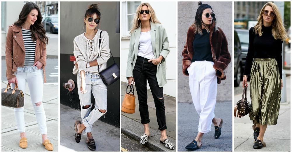 Outfit Ideas To Wear Your Backless Loafers All Year Round