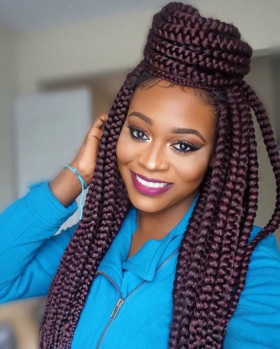 Single Braids Hairstyles: New Summer Trend 2017