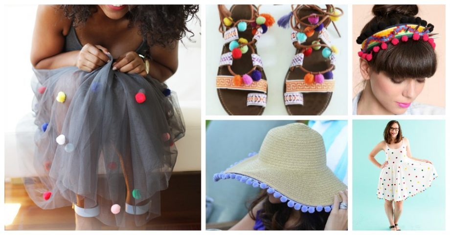 Lovely Summer Inspired DIY POM POM Projects You Need to See