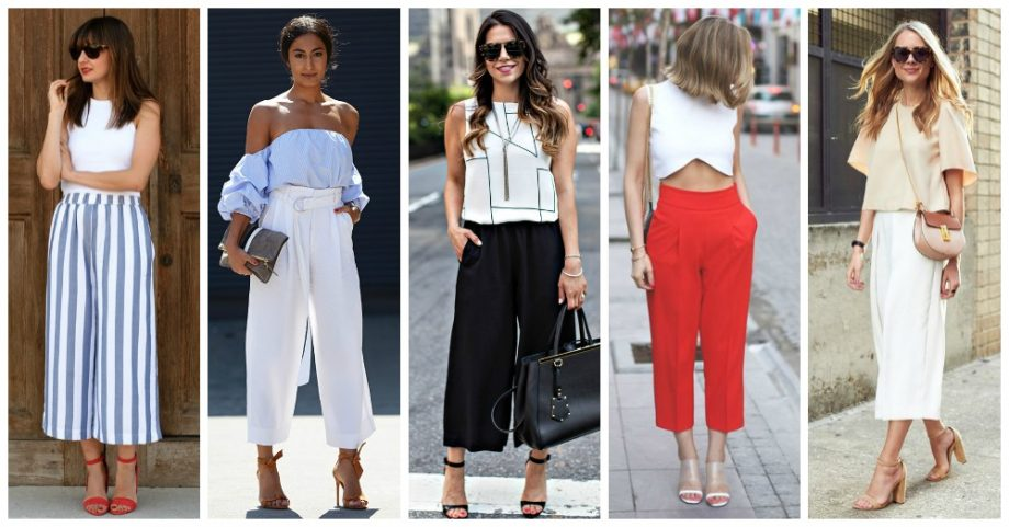 Stylish Outfit Ideas with Cropped Pants