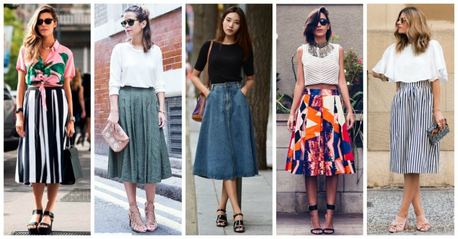 Ideas to Style Your Midi Skirt Right Now
