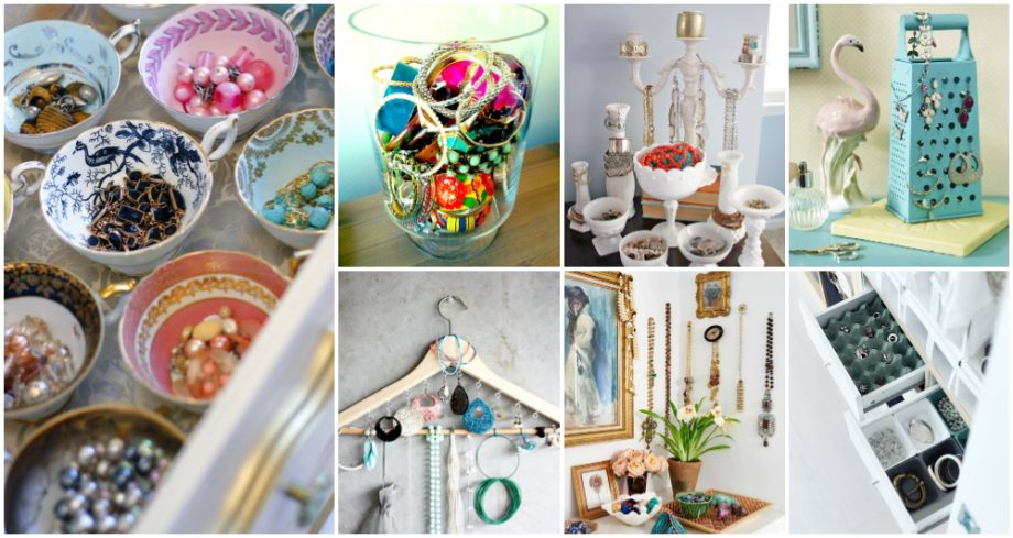 Jewelry Organization Ideas That Any Lady Will Fall In Love With