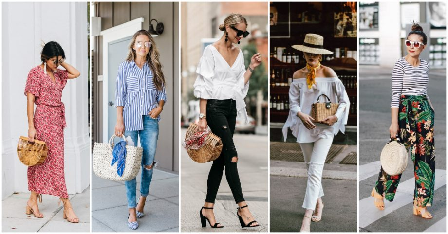 Straw Bag Is A Must Have For Your Summer Outfits