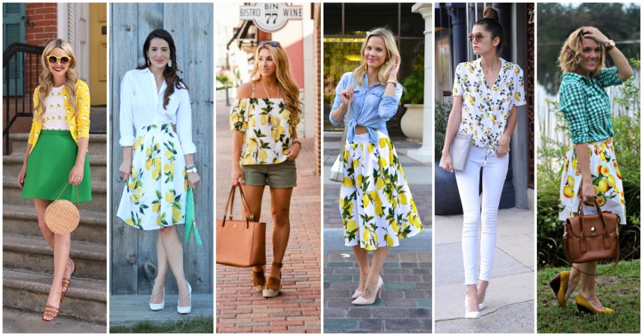 Lemon Print Outfit Ideas To Freshen Up The Summer