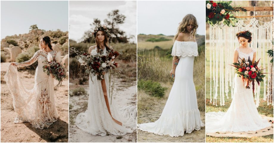 How To Choose The Perfect Bohemian Wedding Dress