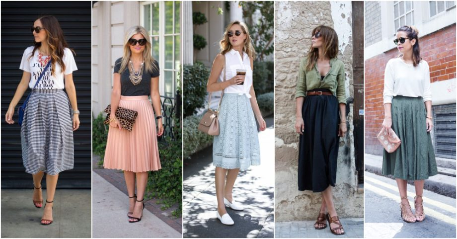 The Midi Skirt Guide For Every Body Shape