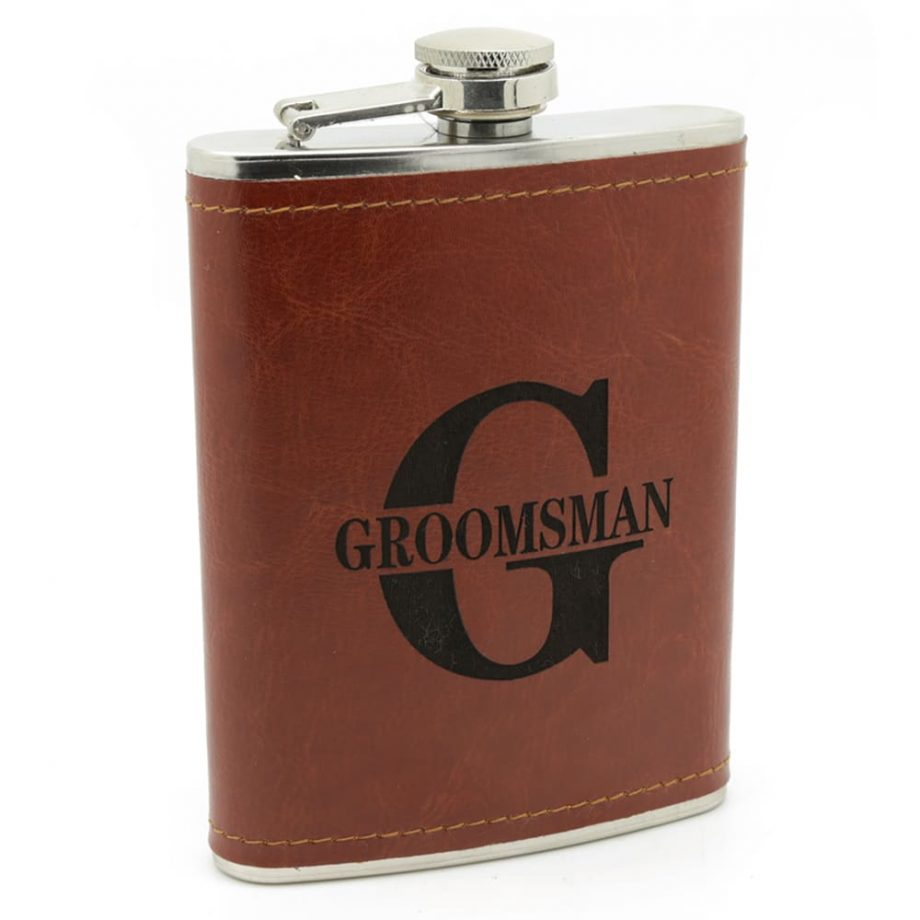Hip Flask-The Perfect Groomsmen Gift