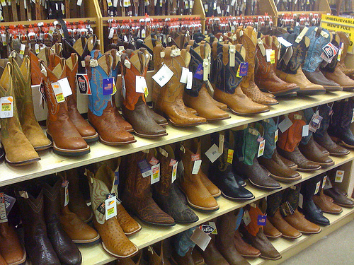 4 Materials You Can Find in Western Boots