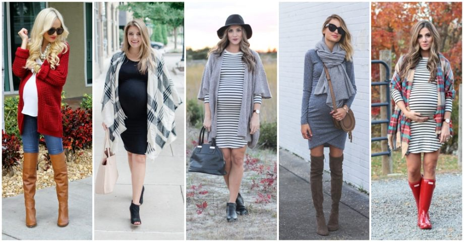 Warm Fall Maternity Outfits That Look Ultra-Modern