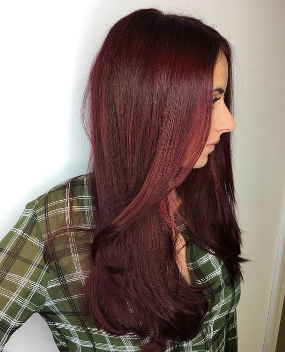See Why Cranberry Hair Is The Hottest Trend This Season