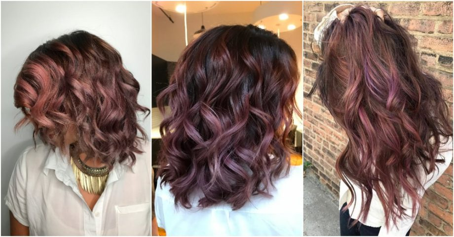 Never Enough Of Trends:Chocolate Mauve Hair
