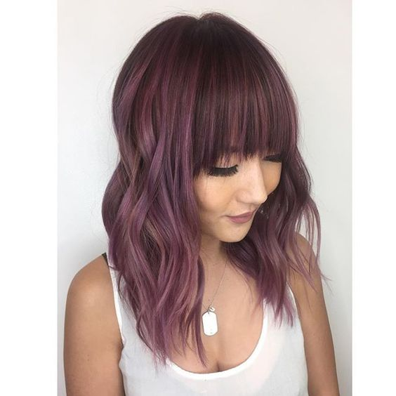 Never Enough Of Trends Chocolate Mauve Hair